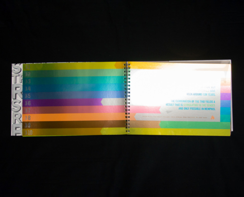 Planner 10 Spot Colors in One Pass